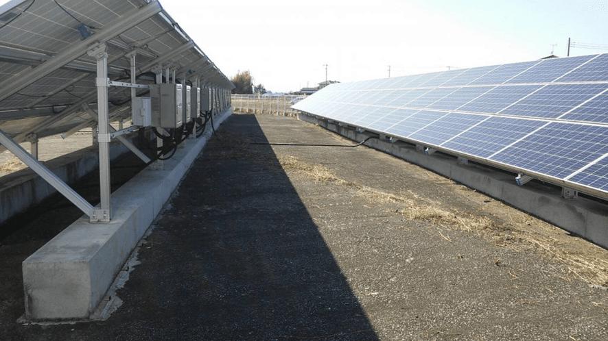 【太陽光設置場所所在地 2】 加須市杓子木大道西